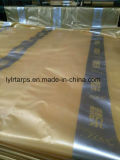 Крышка брезента Китая пластичная, лист брезента PE