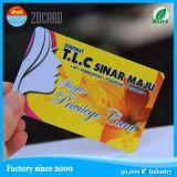 4 cores de impressão de plástico Glossy PVC Nome / Business Card