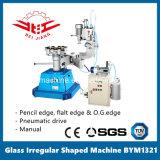 Manual de forma irregular de cristal de la máquina, 3 ruedas adoptadas (BYM1321)