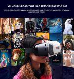 De draagbare hoofd-Opgezette Doos Vr van de Glazen van Smartphone van de Versie van het Karton Google 3D
