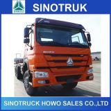 지부티에 있는 25ton Sinotruk HOWO 6X4 371HP 트랙터 트럭