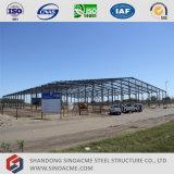 軽い鉄骨構造の倉庫の製造