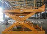 Levage hydraulique stationnaire de dock de ciseaux avec du CE