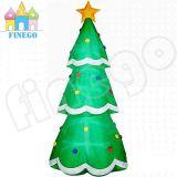 Bomen van de Steunpilaar van de Reclame van Kerstmis de Opblaasbare voor Openlucht BinnenGebeurtenis