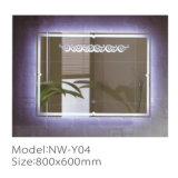 Espejo elegante impermeable del cuarto de baño LED del fabricante profesional