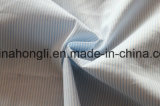 Poliester teñido hilado del algodón, tela rayada para la ropa, 58%Cotton 39%Polyester 3%Spandex, 120g/Sm