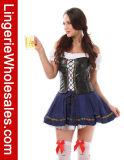 Сексуально плюс костюм пива размера девичий
