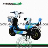 Acero con la motocicleta eléctrica de la suspensión