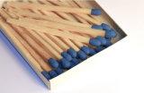Tutti i generi di corrispondenze di sicurezza cape blu di legno di marche