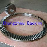 Pignon conique spiralé rotatoire du Tableau Zp49.5 (OD1950mm)