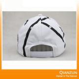 刺繍の綿の100%年の綿の野球帽