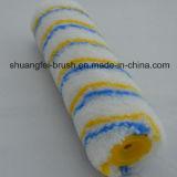 rouleau de peinture thermique acrylique d'adhérence de piste bleue et jaune de 12mm