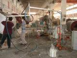 Máquina que pinta (con vaporizador) de la fibra de vidrio para la fabricación del producto de FRP