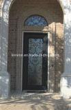 Únicas portas exteriores usadas anúncio publicitário com vidro do Sandblast