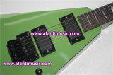 Mahagonikarosserie u. Stutzen/Afanti elektrische Gitarre (AESP-64)
