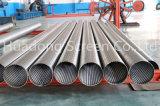 Pantalla de la ranura del alambre de la cuña del filtro para pozos/de Johnson del agua mini/tubo de la pantalla/tubo filtrante del acero inoxidable