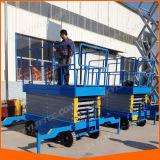 Vierwielige Mobiele Lift 20m van de Schaar
