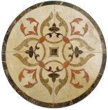 Medaglione del marmo del getto di acqua di buona qualità