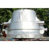 ステンレス鋼の熱い鍋を投げるスラグ鍋