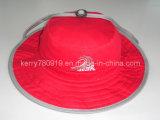 Chapeau valable adapté aux besoins du client concurrentiel chaud de 2016 de promotion de coton de grand seau de bord nouveau poissons de Sun