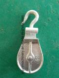 горячего DIP 502-B гальванизировать блок Snatch с крюком