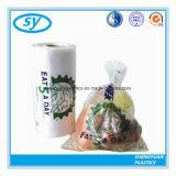 Напечатанный таможней ясный пластичный мешок еды на крене
