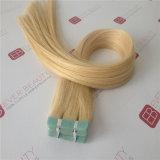 毛の加工されていない人間の毛髪の拡張テープ