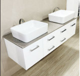 Nuova vanità moderna della stanza da bagno del doppio dispersore con il dispersore