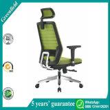 Silla del ordenador de la silla del encargado de la silla de la oficina del asiento de la tela de la parte posterior del acoplamiento del diseño moderno del verde del nuevo producto 2017 con los apoyabrazos (820A6E)