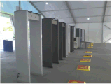 Het hoogste-verkoopt Weather-Proofing Alarm van de Detectors van het Metaal van het Frame van de Deur van het Ontwerp Correcte en Lichte, Gebruik aan Activiteiten Op grote schaal K608