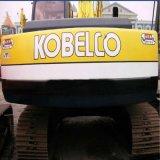 Máquina escavadora usada de Kobelco Sk-200 da maquinaria de construção da esteira rolante equipamento hidráulico