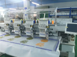 La Cina ha automatizzato la testa della macchina 4 del ricamo sul vestito delle protezioni per il ricamo tovagliolo/della maglietta egualmente