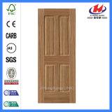 Porte économique de placage en bois solide HDF de modèle (JHK-004P)