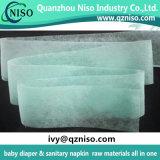Гидрофильный воздух Adl зеленый через Nonwoven ткань для пеленок младенца