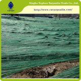 Анти- плетение доказательства сети доказательства ветра пыли 60GSM зеленое сетчатое
