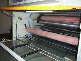 Máquina que lamina caliente y fría del rodillo automático con el sistema rector del Web (XJFMR-130)