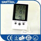 Contador de la temperatura y de la humedad con tiempo