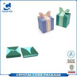 Vakje van het Document van de Gift van de douane het Embleem Afgedrukte Kraftpapier Gerecycleerde
