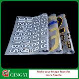 Qingyi 의복을%s 도매 좋은 가격 열전달 스티커