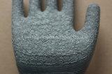 13 de Handschoen van het Werk van de Polyester van de maat met Met een laag bedekte het Latex van de Kreuk