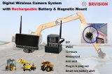 Farbbildschirm-drahtloses rutschfestes magnetisches Montierungs-Kamera-System für Fahrzeug