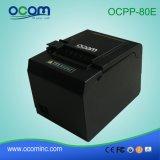 80mm Schreibtisch Positions-thermischer Empfangs-Drucker mit thermisches Papier-Rolle (OCPP-80E)