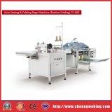 CF600 automática de costura y máquina de papel plegable Precio de vídeo