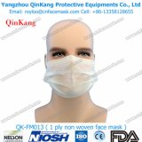Masque protecteur non-tissé chirurgical remplaçable de marche à suivre de 1 pli et respirateur particulaire avec Earloop Qk-FM013