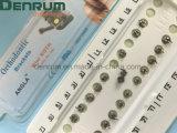 Denrumの工場ISOのセリウムのFDAが付いている熱い販売歯科歯科矯正学材料の歯科矯正学のMIMブラケット