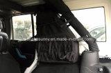 Negro resistente de los pares de Lantsun para el Wrangler del jeep de los ajustes de los bolsos del almacenaje de la cara del jeep