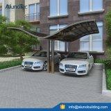 Couverture en aluminium d'écran de parkings de polycarbonate extérieur double