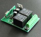 Transmissor do RF de 4 canaletas e jogo ajustado do controlador do motor do receptor
