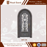 Алюминиевая входная дверь/дверь двойного входа с конструкцией решетки двери транца/дома