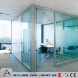 ガラス壁は10mmガラス-オフィスガラスのディバイダ仕切る